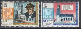 British Virgin Islands 1974 The 100th Anniversary Of The Birth Of Winston Spencer Churchill. Mi 278-279 MNH - Iles Vièrges Britanniques