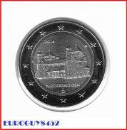 DUITSLAND - 2 € COM. 2014 UNC - SINT-MICHAELKERK - LETTER A - Allemagne