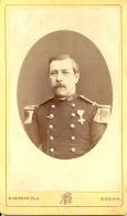 Photo Hector HUFSON Sedan Année 1870  Soldat  Du 120ème De Ligne - Photographs