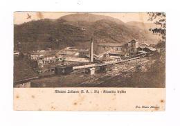 Altavilla Irpina Avellino Miniere Di Zolfo Ferrovia Treno Anni 20 - Avellino
