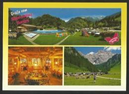 NENZING Bludenz Vorarlberg ALPENCAMPING Garfrenga Stuba Naturpark Nenzinger Himmel 1996 - Nenzing