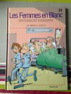 "Bercovici / Cauvin, Les Femmes En Blanc ""Rentabilité Maximum"" (31) - Libri, Riviste, Fumetti"