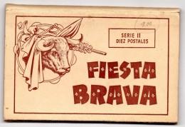55Nja   Carnet De 10 Cpa Fiesta Brava Corrida Illustrations Edicion Boix Hermanos De Melilla Espagne - Corrida