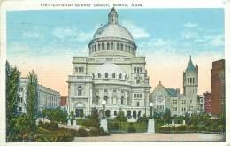 BOSTON - Christian Science Church - Boston