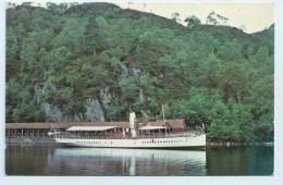 The Sir Walter Scott, Trossachs Pier - Ships