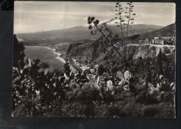 Q188 TAORMINA IN PROV. DI MESSINA - VIAGGIATA 1956 - ROTALFOTO - Messina