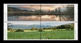 Liechtenstein 2015 Mih. 1761/64 Nature Reserves. Schwabbrunnen MNH ** - Liechtenstein