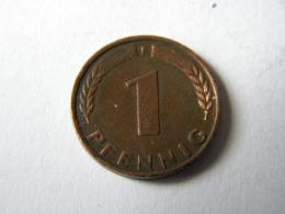 ALLEMAGNE.... 1 PFENNIG 1949.F. - 1 Pfennig