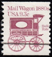 "UNITED STATES - Scott #1903a Mail Wagon 1880s ""Precanceled"" (*) / Mint NG Stamp - United States"