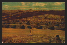 PERU CUZCO SWISS FOTO Vintage Original Ca1960 POSTCARD CPA AK (W4_2728) - Perù
