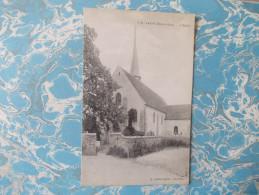 Cpa SAINT PREST - L'église - - France