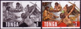 Tonga 1996 Proof + Specimen - Prehistoric Bear - Bears