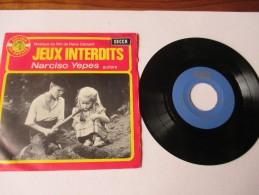 JEUX  INTERDITS  -  Musique Du Film De René Clément --  NARCISCO  YEPES . Guitare   ---   2 Photos - Filmmusik