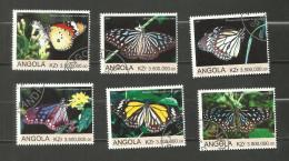 """Angola Année 2000 """"Papillons"""" - Angola"""