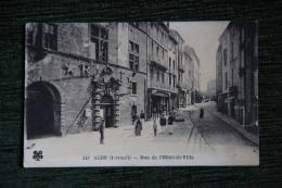 AGDE - Rue De L'Hôtel De Ville - Agde