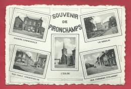 Pironchamps - Souvenir De ... - Carte Postale 5 Vues - 1949  ( Voir Verso ) - Farciennes