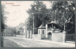 2090 - Ohne Porto - Alte Ansichtskarte Grossenhain Johannes Allee Gel 1918 - Grossenhain