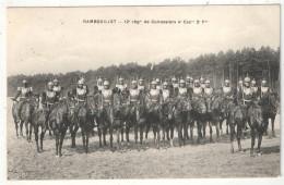 RAMBOUILLET - 12e Régiment De Cuirassiers 4e Escouade 2e Peloton - Aubry - 1907 - Régiments