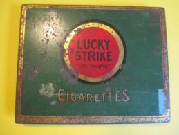 Paquet De Cigarette Métallique /Américain/Lucky Strike /American Tobacco Co/ Vers 1950    BFPP57 - Etuis à Cigarettes Vides