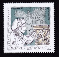 """France 2016 - Yv N° 5040 ** - Métiers D´Art """"Sculpteur Sur Pierre"""" - Unused Stamps"""