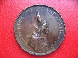 Vatican 1700 - Médaille Cardinal De Bouillon - La Tour D´Auvergne - Bronze 54mm 62g - Autres