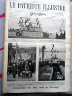 Le Patriote Illustré N°18 Du 04/05/1924 Zeebrugge Liège Steenstraete Nivelles Corvilain Averbode Mussolini Rome Wembley - Collections