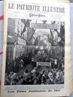 Le Patriote Illustré N°34 Du 24/08/1924 Hal Ramegnies-Chin Loncin Liège Anvers Carton Anversville Scapa Flow Londres - Vecchi Documenti