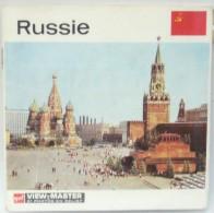 VIEW MASTER  POCHETTE DE 3 DISQUES  C 560  RUSSIE - Visionneuses Stéréoscopiques