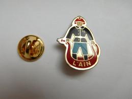 Pompiers , SP , L' Ain - Brandweerman