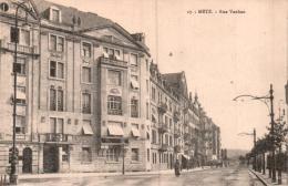 57 METZ RUE VAUBAN PAS CIRCULEE - Metz