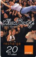 @+ Recharge Orange De La Réunion - Allon Bougé. Date 12/05 - Reunion
