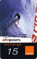 @+ Recharge Orange De La Réunion - Ripcurl Surf 3. Date 12/05 - Reunion