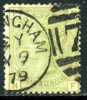 Grande-Bretagne 1876-80 Y&T 59 ° - Oblitérés