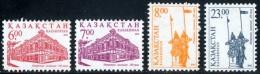 KAZAKHSTAN - 2002 - Mi 385-388 - 250th ANNIVERSARY OF CITY OF PETROPALVOVSK - MNH ** - Kazakhstan