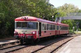 Lozanne (69) 29/05/2004 - L´autorail X4651 Pret à Assurer Un TER Lozanne/Lyon - Stations With Trains