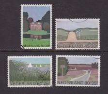 NEDERLAND 1980 Serie Zomer Zegels Gestempeld 1194-1197 # 1263 - Period 1980-... (Beatrix)