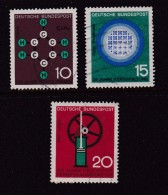 GERMANY 1964 Usedstamp(s) Science &Technics 440-442 #1480 - [7] Federal Republic