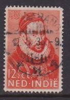 NEDERLANDS INDIE 1933 Used Stamp(s) Prince Willem I Orange 12 1/2 Cent Nr. 180 - Netherlands Indies