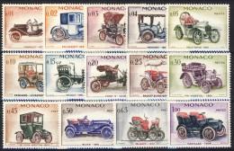 Monaco 1961 Serie N. 557-570 Auto D'epoca MNH Catalogo € 25,40 - Monaco