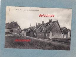 CPA   - VOVES - Rue De LOIGNY La Bataille  - édition Lenormand - écrite Et Timbrée  1934 - RARE - France