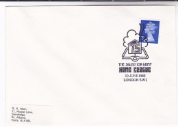 1982 GB Stamps COVER EVENT Pmk SALVATION ARMY HOME LEAGUE Religion Christianity - Christianity