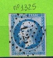 OBLIT PC N°1325 FOURNELS - LOZERE - 1849-1876: Période Classique