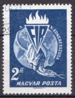 Hungary Used Snake Stamp - Snakes
