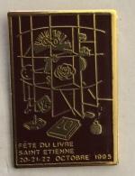MEDIA LA FETE DU LIVRE SAINT ETIENNE 1995 - Mass Media