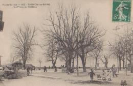 CPA:Thonon:La Place Du Château - Thonon-les-Bains