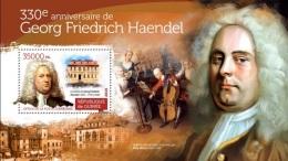 Guinea 2015, Music, G. F. Handel, BF - Musique