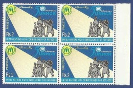 PAKISTAN 2000 MNH 50TH ANNIVERSARY OF UN U.N HIGH COMMISIONER FOR REFUGEES, UNHCR, REFUGEE