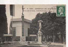 Exposition Des Arts Decoratifs Paris Pavillon National Tchecoslovaquie - Exhibitions