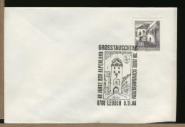 AUSTRIA -  Coat Of Arms Of LEOBEN  Styria -  STADTTURM   Torre  Orologio - Orologeria