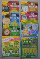 PORTUGAL    - 21 LOTARIAS INSTANTANEAS     - (Nº14634) - Billets De Loterie